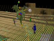 Jungle Demon fight