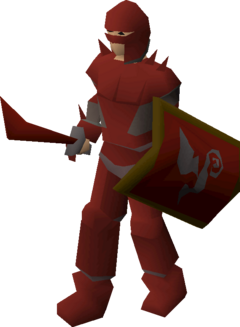 Zamorak warrior (lv 85)