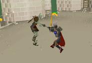 Fighting Zombie Champion