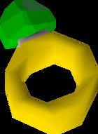 Emerald ring detail