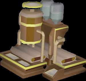 Mahogany feeder built