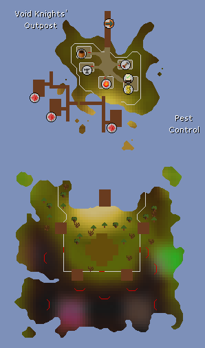 Pest Control map
