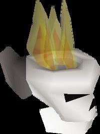 Skull Torch built