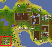 Brimhaven Dungeon location