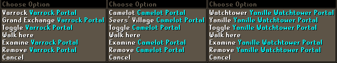 Teleport Options & Tidying Up (1)