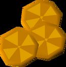 Orange slices detail