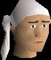 Pirate bandana (white) chathead