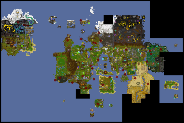 Image - Teleport map.png | Old School RuneScape Wiki | FANDOM ...