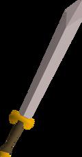 White 2h sword detail