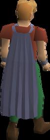 Fremennik blue cloak equipped