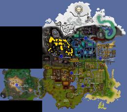 Lovakengj Minecart Network Map