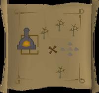 Map clue Burgh de Rott furnace