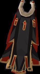 Zamorak max cape detail