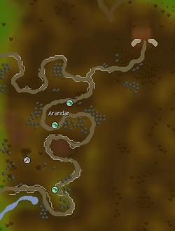 Arandar map