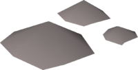 Granite dust detail
