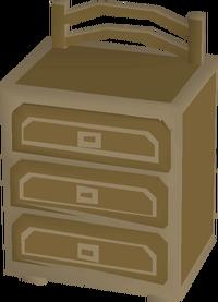 Teak drawers built