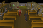 Emote clue - spin West Ardougne church