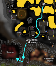 Lizardman Shaman location 1