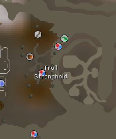 Troll Stronghold map