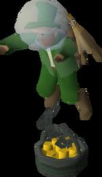 Tool Leprechaun (underwater)