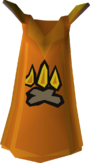 Firemaking cape detail