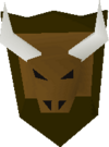 The Long Hall bull's head