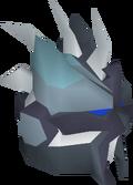 Turquoise slayer helmet detail