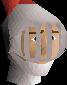 Heraldic helm (Kandarin) chathead