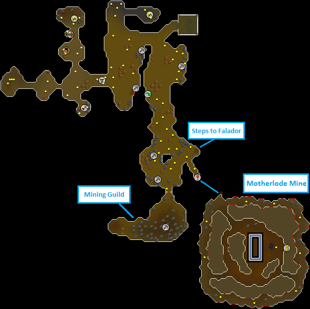 The Motherlode Mine Old School Runescape Wiki Fandom