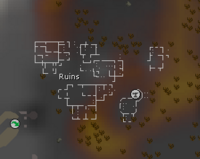Ruins (west) map