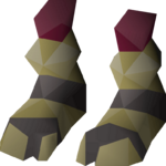Samurai boots detail