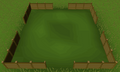 Wooden fence built.png