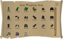Lost Property shop
