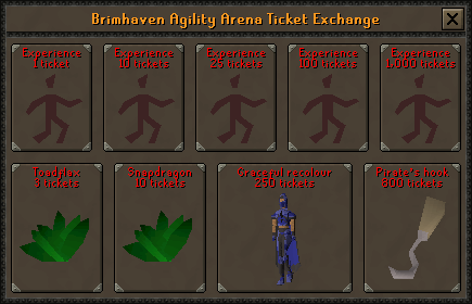 Agility Ticket Exchange