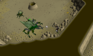 Kalphite Guardian safe spot