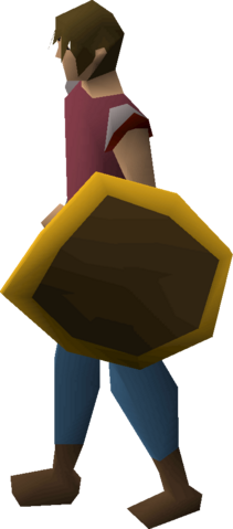 File:Wooden shield (g) equipped.png