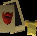 Dragon full helm ornament kit detail