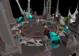 Fighting Nylocas hordes
