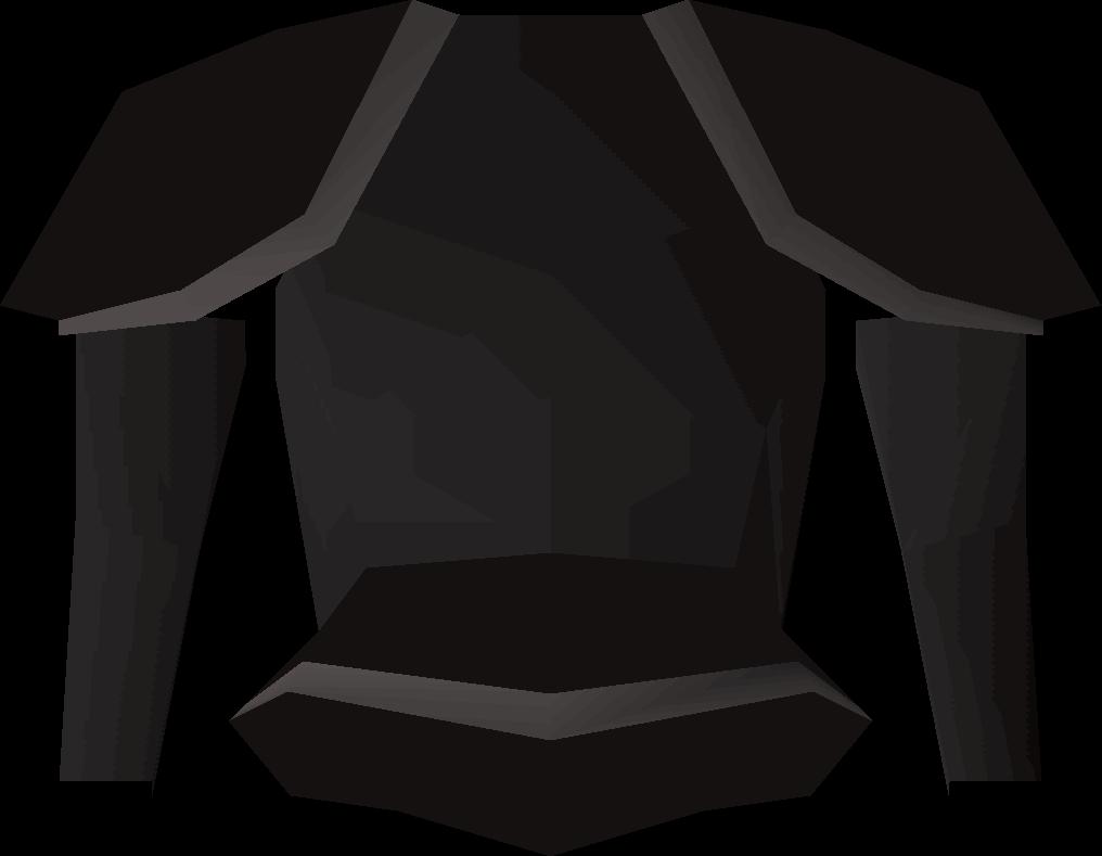Black Platebody T Old School Runescape Wiki Fandom Powered By