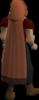 Castlewars cloak (Zamorak) equipped