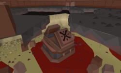 Shayzien Crypts bloody coffin
