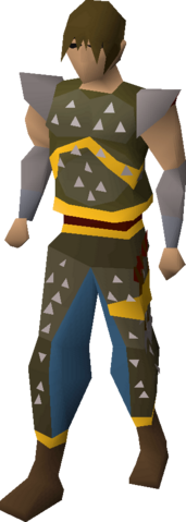 File:Studded leather armour (g) equipped.png