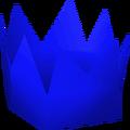 Blue partyhat detail
