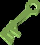 Bone key (Ghosts Ahoy) detail