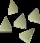 Pearl bolt tips detail