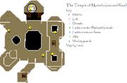 Temple of Marimbo first floor map