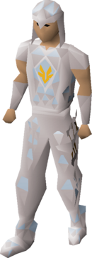 Armadyl blessed d'hide armour equipped