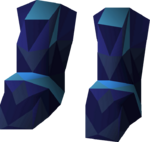 Saradomin d'hide boots detail