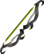 Twisted bow detail