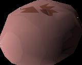 Evil chicken's egg detail